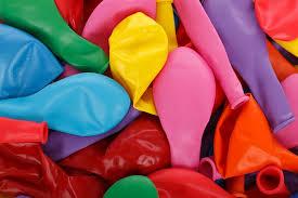 Ballonnen horen erbij