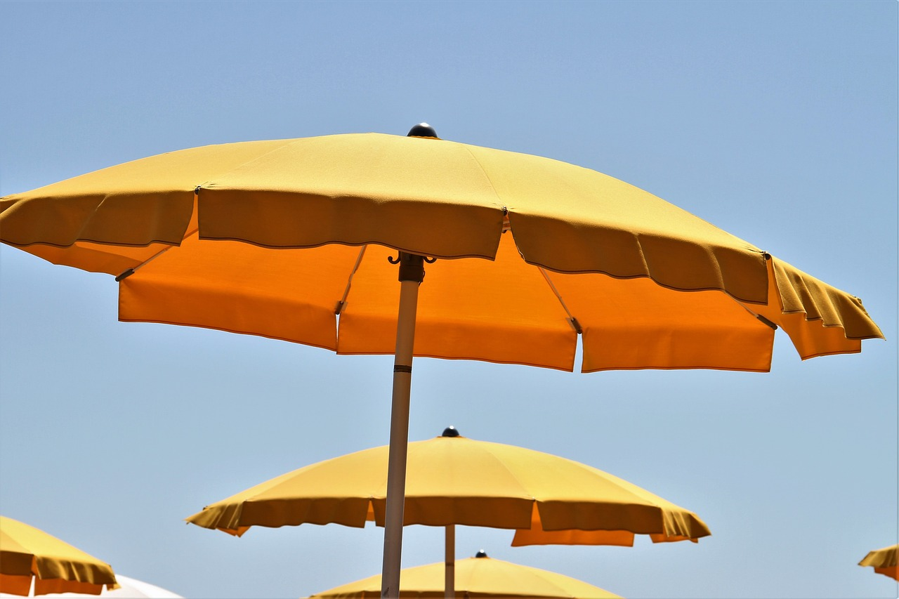 Horeca parasols voor de zomer!
